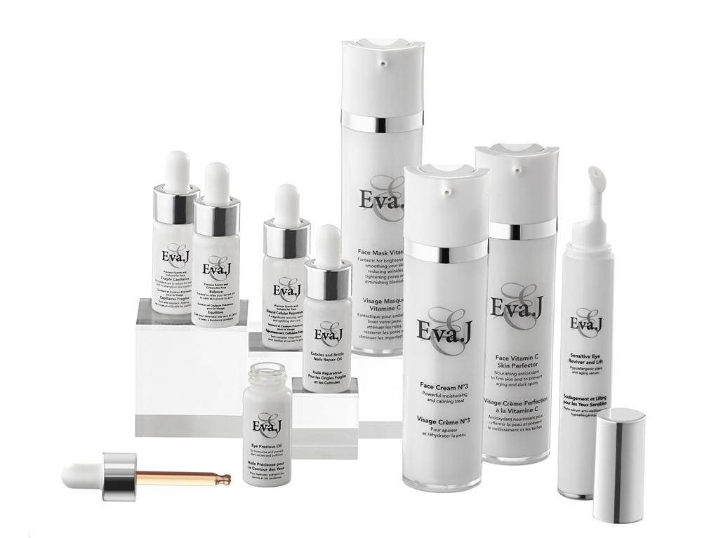 Eva.J - Basée en Suisse romande, la marque de niche élabore des produits bio de luxe.